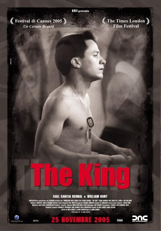 La locandina italiana di The King