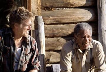 Robert Redford e Morgan Freeman ne Il vento del perdono