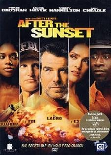 La copertina DVD di After the Sunset