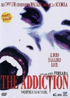 La copertina DVD di The Addiction