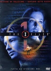 La copertina DVD di The X-Files - Stagione 1 Edizione Restage Amaray