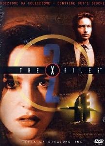 La copertina DVD di X-Files - Stagione 2 Edizione Restage Amaray