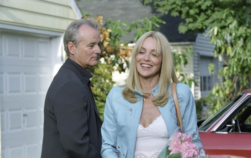 Bill Murray e Sharon Stone in Broken Flower