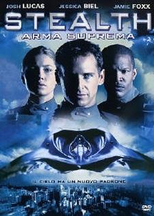 La copertina DVD di Stealth - Arma suprema