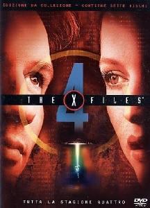 La copertina DVD di X-Files - Stagione 4 Edizione Restage Amaray