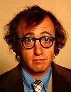 un buffo ritratto Woody Allen