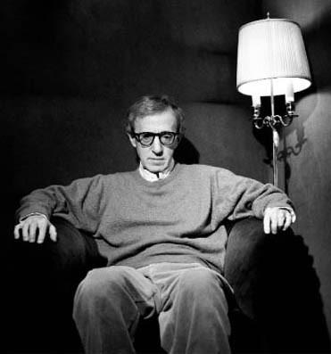 il regista e attore Woody Allen