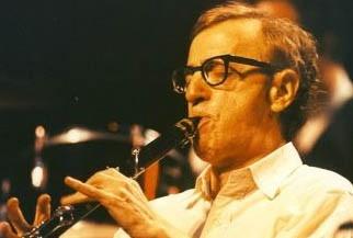 Woody Allen suona il clarinetto