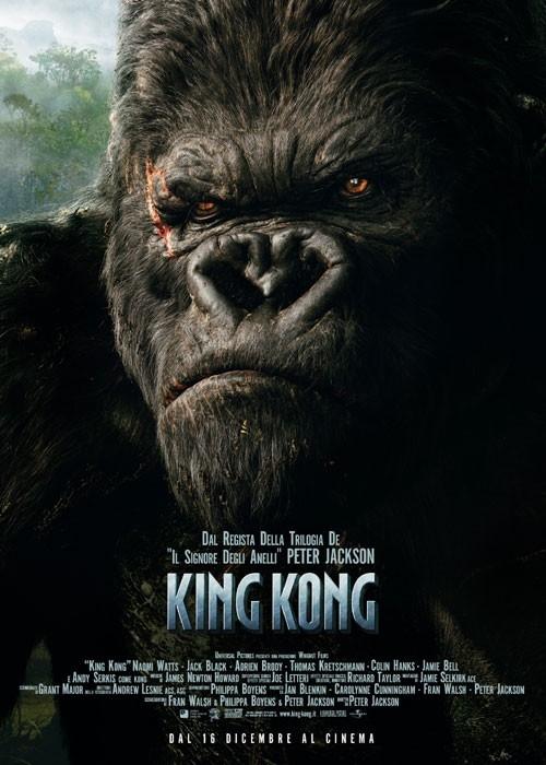 La locandina italia di King Kong