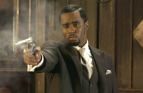 Sean 'P. Diddy' Combs in una scena del film Carlito's Way - Scalata al potere