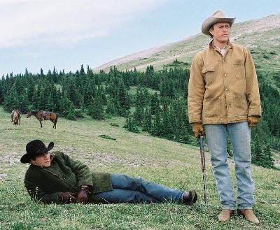 Jake Gyllenhaal ed Heath Ledger in Brokeback Mountain
