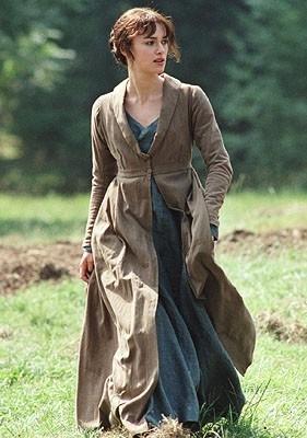 Keira Knightley in Orgoglio e Pregiudizio