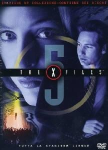La copertina DVD di X-Files - Stagione 5 Edizione Restage Amaray