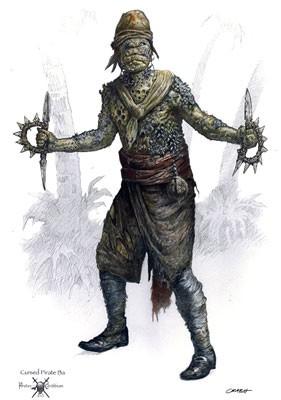Concept - art realizzato per Pirates of the Caribbean: Dead Man's Chest
