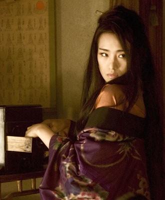 Una splendida Gong Li in Memorie di una Geisha