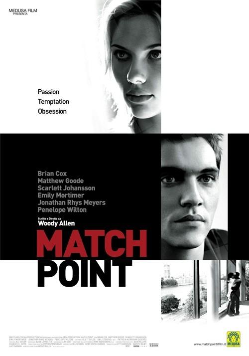 La locandina italiana di Match Point