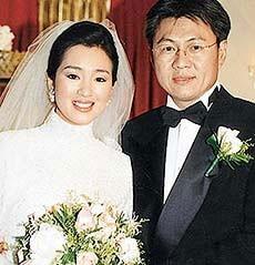 Gong Li il giorno del suo matrimonio