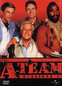 La copertina DVD di A-Team - Stagione 1