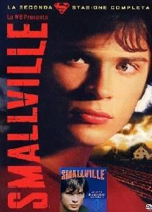 La copertina DVD di Smallville - Stagione 2