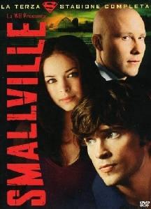 La copertina DVD di Smallville - Stagione 3