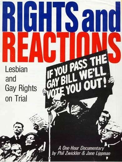 La locandina di Rights And Reactions: Lesbian & Gay Rights On Trial