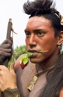 Lawrence Santiago in The New World