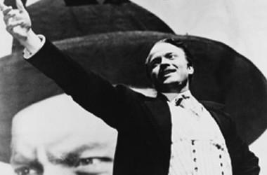 Orson Welles in una sequenza di Quarto potere