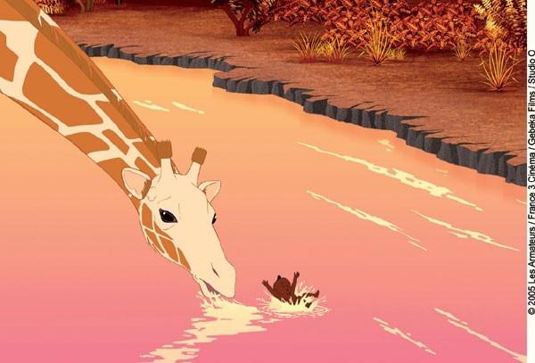 una scena del film Kirikù e gli animali selvaggi