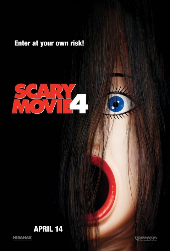 La locandina di Scary Movie 4