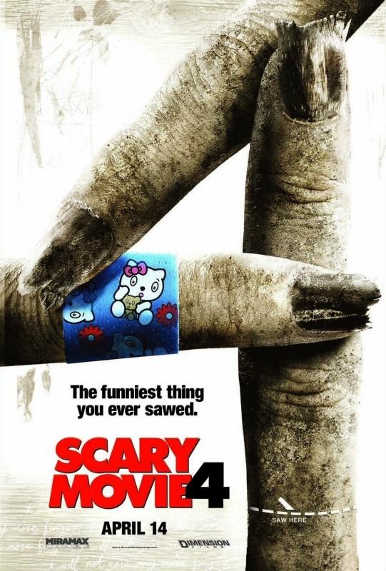 Uno dei divertentissimi manifesti di Scary Movie 4