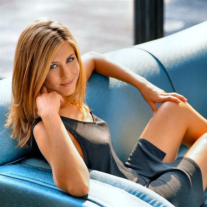 Una bella foto dell'attrice Jennifer Aniston