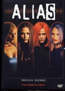 La copertina DVD di Alias - Stagione 1