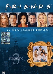 La copertina DVD di Friends - Stagione 3