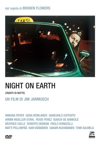 La copertina DVD di Night on Earth - Taxisti di notte