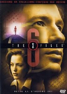 La copertina DVD di X-Files Stagione 6 - Edizione Restage Amaray