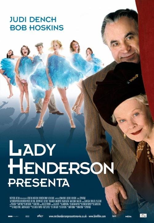 La locandina italiana di Lady Henderson presenta