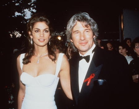 Richard Gere e Cindy Crawford