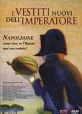 La copertina DVD di I vestiti nuovi dell'imperatore