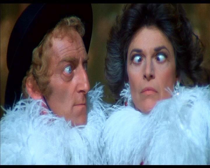 Marty Feldman e Anne Bancroft in una scena de L'ULTIMA FOLLIA DI MEL BROOKS