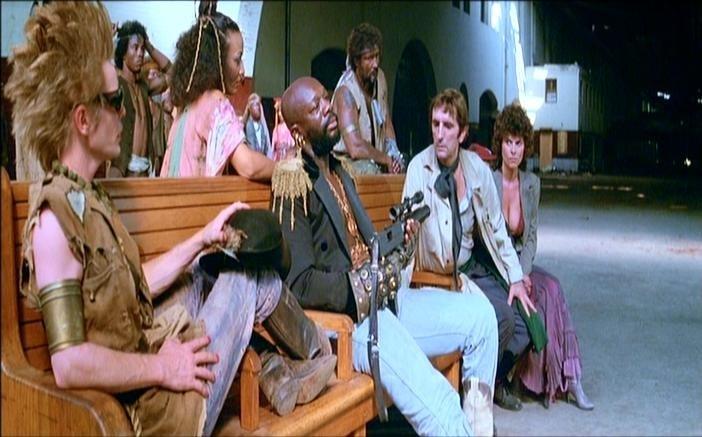 Una scena di 1997: FUGA DA NEW YORK diretto da John Carpenter nel 1981