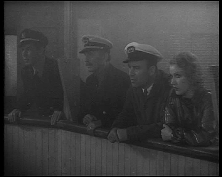 Bruce Cabot, Frank Reicher, Robert Armstrong e Fay Wray in una scena di KING KONG