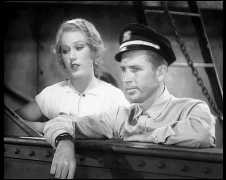 Fay Wray con Bruce Cabot in una scena di KING KONG
