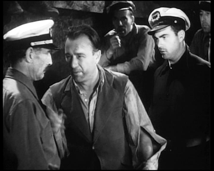 Frank Reicher, Robert Armstrong e Bruce Cabot in una scena di KING KONG