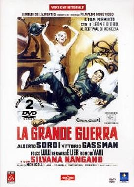 La copertina DVD di La grande guerra - Edizione speciale