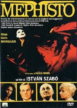 La copertina DVD di Mephisto