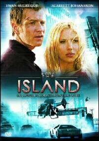 La copertina DVD di The Island