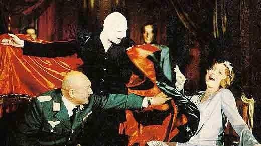 """Mephisto diletta il suo protettore, """"il Generale""""(nella realtà Hermann Goering), e la sua consorte, sua collega attrice"""