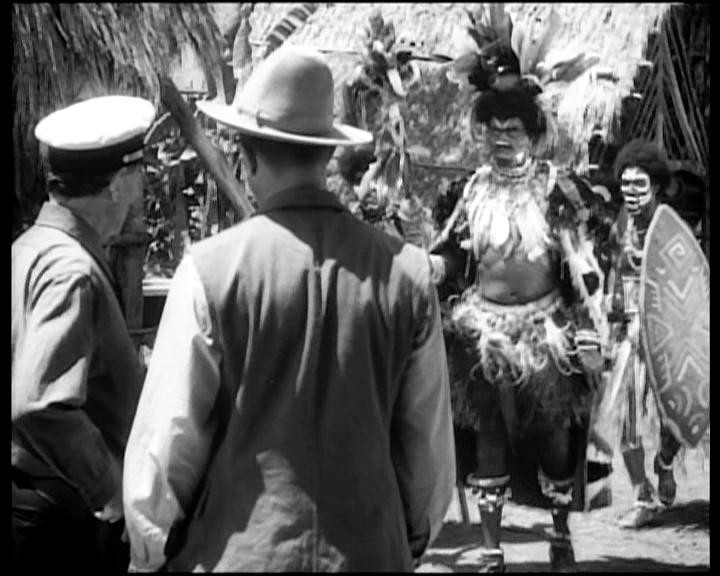 Una scena del leggendario KING KONG (1933)