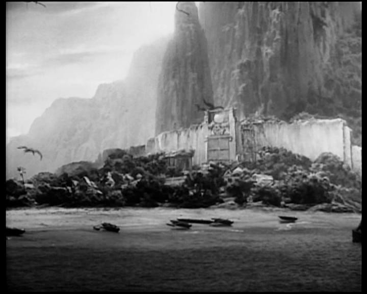 Una suggestiva scena di KING KONG