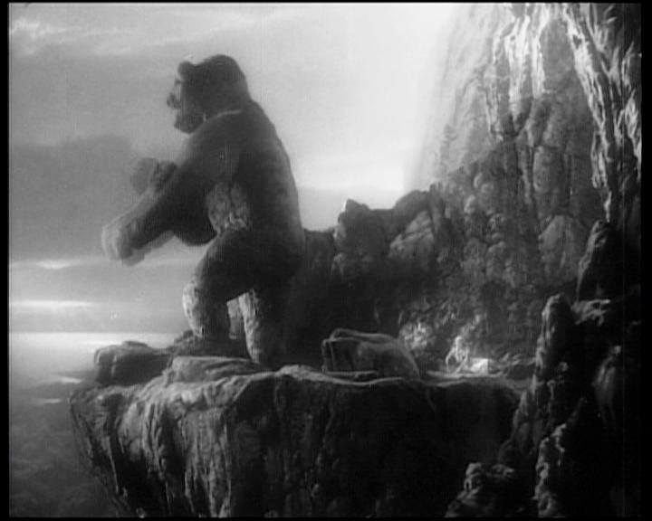 King Kong, una sequenza del film del 1933
